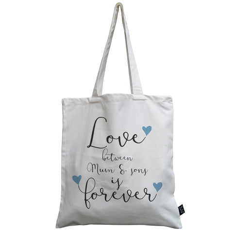Mum & Son forever canvas bag