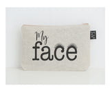 My face eyelashes small make up bag