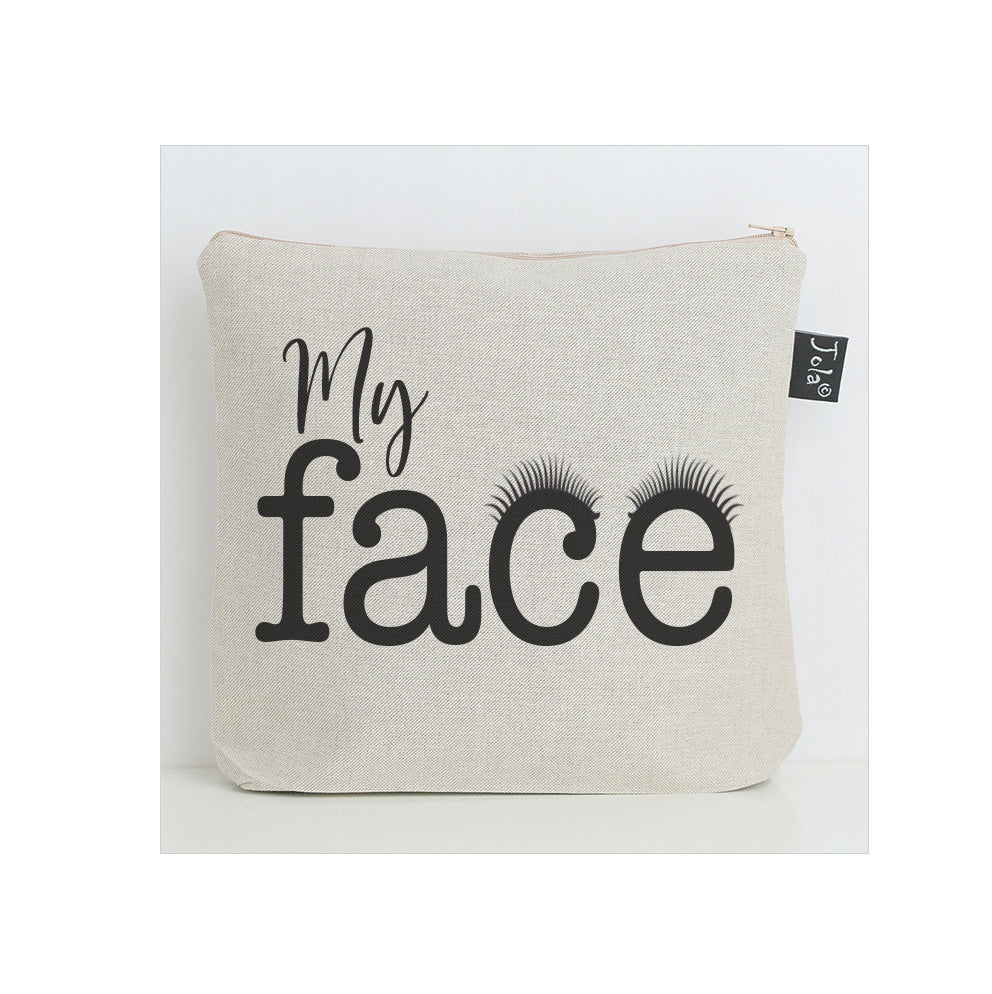 My Face Eyelashes washbag