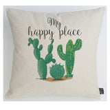 My Happy Place Cactus cushion