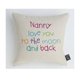 Nanny moon and back multi Cushion