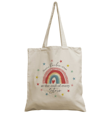 Rainbow Hope canvas bag