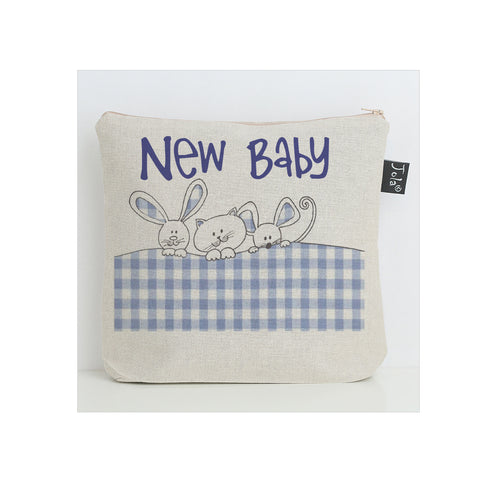 Gingham Bunnies nappy bag