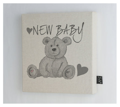 New Baby Bear Canvas Frame