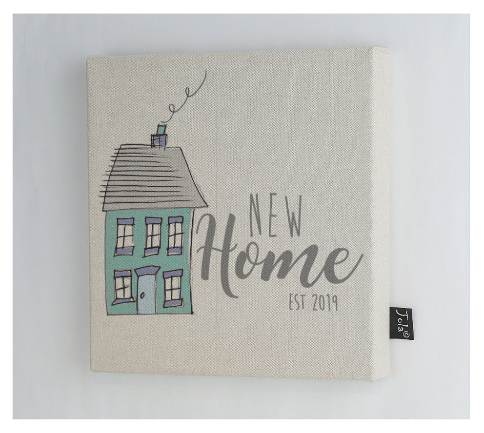 New home house Canvas