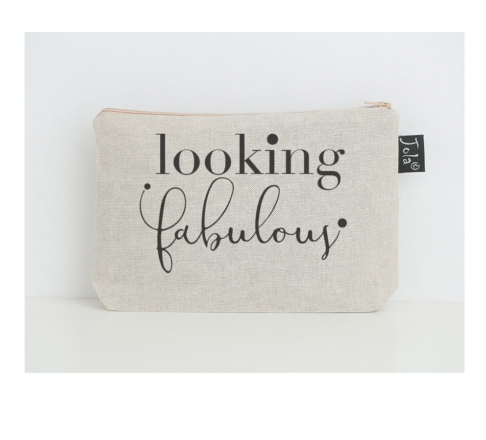 Looking Fabulous small make up bag