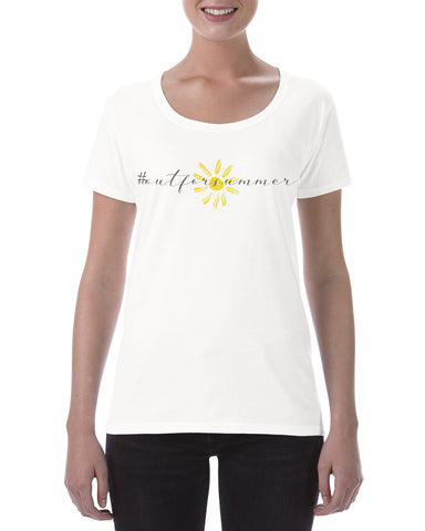 Cotton T Shirt #outforsummer Teacher