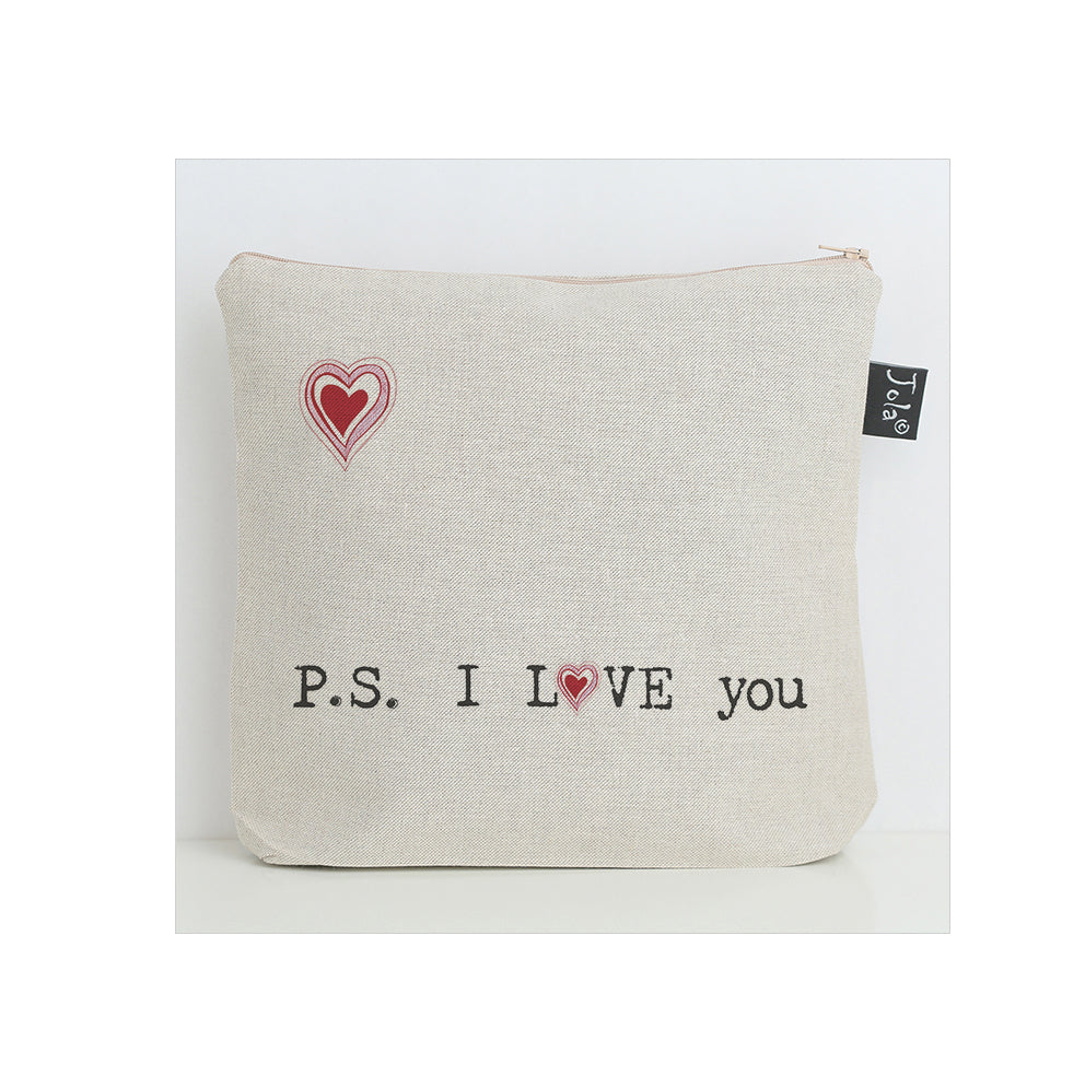 P.S I love you Wash Bag