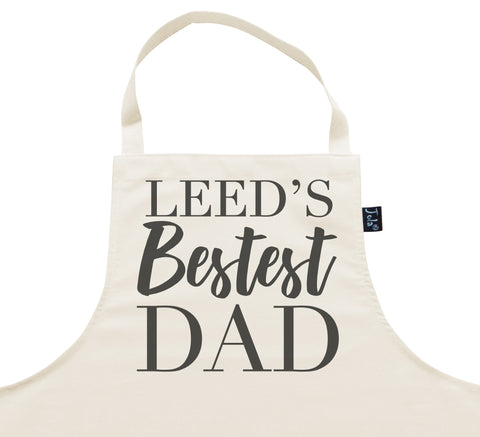 Personalised City Bestest Dad Apron