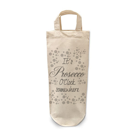 It's Prosecco o'clock Bottle Bag