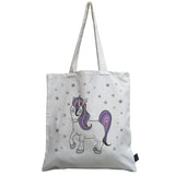 Pastel Unicorn canvas bag