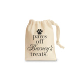 Paws off Personalised Dog Treat bag