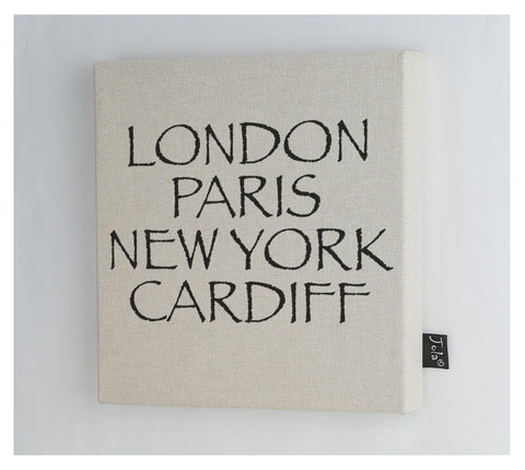 Personalised City Canvas Frame