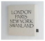 Personalised City Font 2 Canvas Frame
