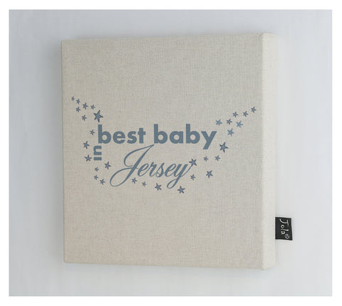 Personalised City Best Baby canvas frame