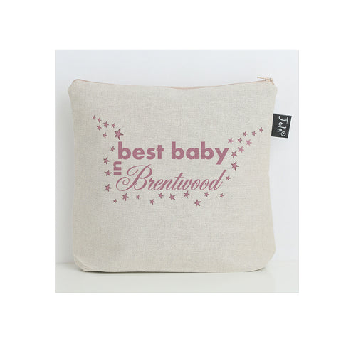 Personalised City Best Baby Nappy Bag