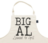 Personalised Licensed to Grill Apron