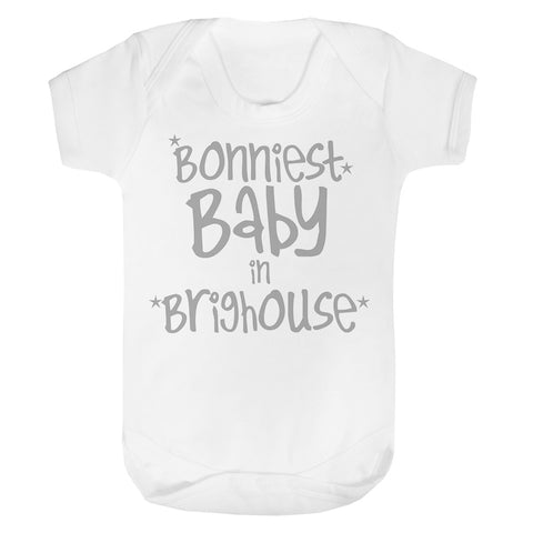 Personalised Bonniest Baby Vest