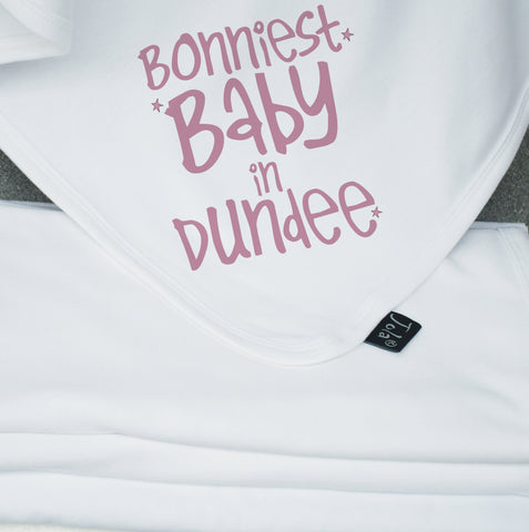 Bonniest Baby personalised blanket