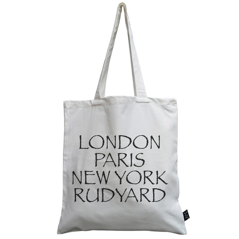 Personalised City canvas bag