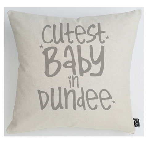 Personalised Cutest Baby Cushion