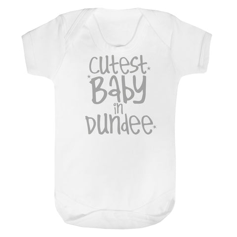 Personalised Cutest Baby Vest