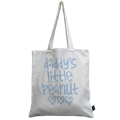 Personalised Baby Peanut canvas bag