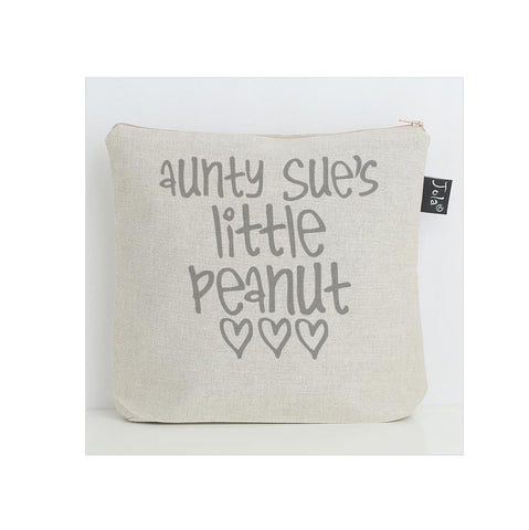 Personalised Little Peanut Nappy Bag