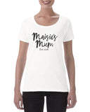 Personalied Mum est Cotton T Shirt