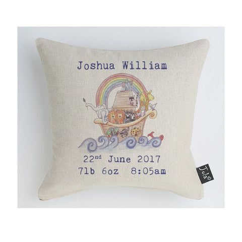Noah's Ark Cushion Personalised Midi Cushion