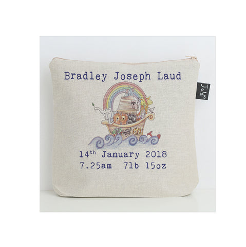 Personalised Noah's Ark Nappy Bag