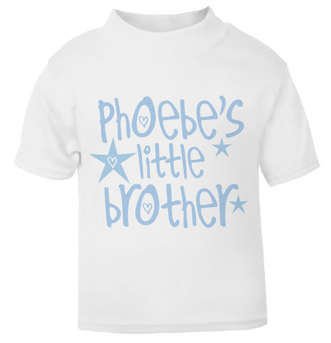 Big Brother Personalised Star T Shirt blue