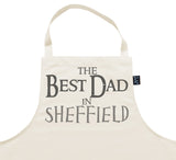 Personalised City Best Dad Apron
