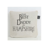Personalised The Best Daddy city wash bag