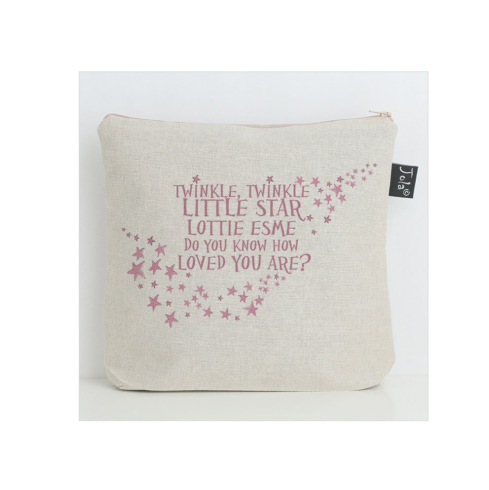 Personalised Twinkle Baby Nappy Bag