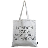 City canvas bag