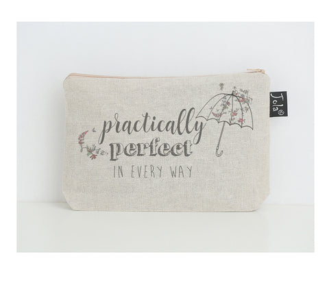Practically perfect Floral small make up bag