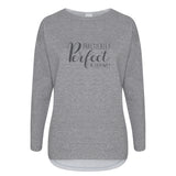 Cotton Slouch Sweatshirt Practically Perfect