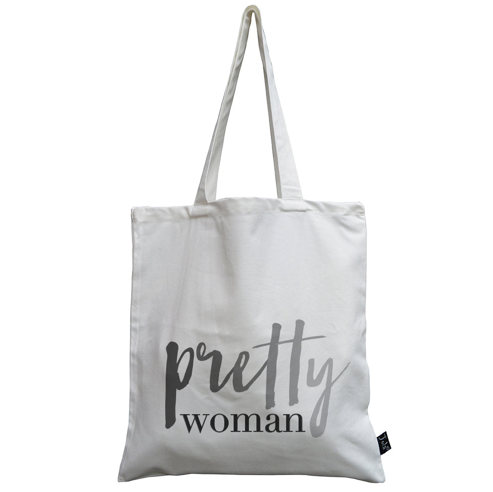 Pretty woman canvas bag