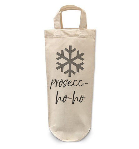 Prosecco Ho Ho Bottle Bag