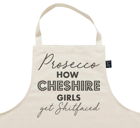 Personalised Prosecco Shitfaced Apron