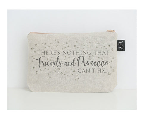 Prosecco fix small make up bag