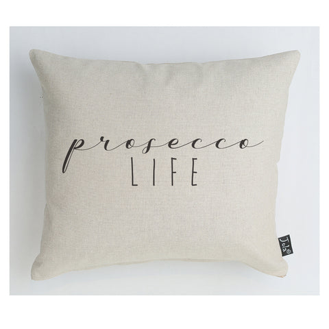 Prosecco life cushion