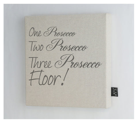 Prosecco Floor Canvas frame