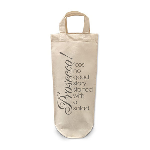 Prosecco salad Bottle Bag