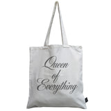 Queen of Everything canvas bag