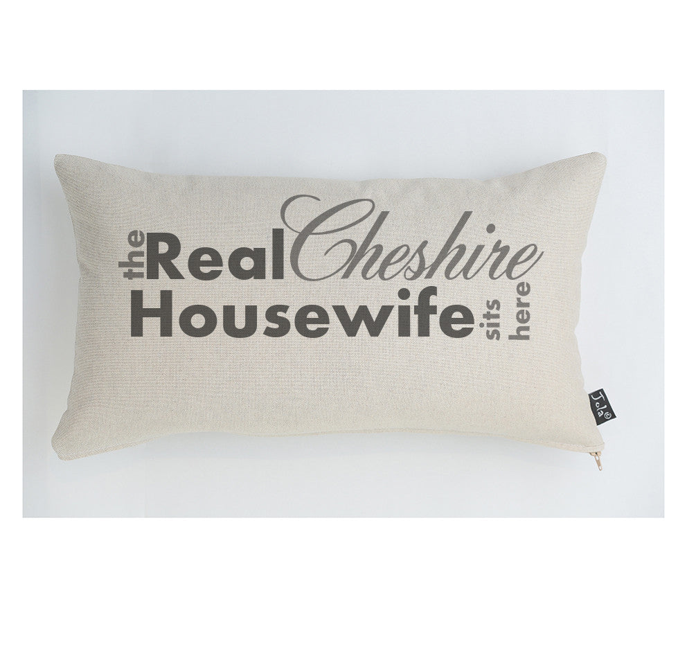 The Real Cheshire Housewife cushion