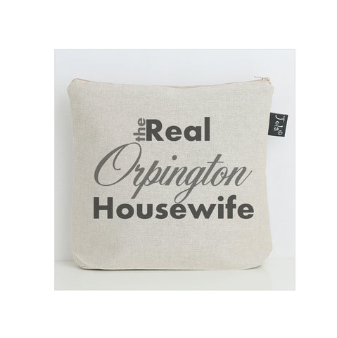 Personalised Real Housewife wash bag