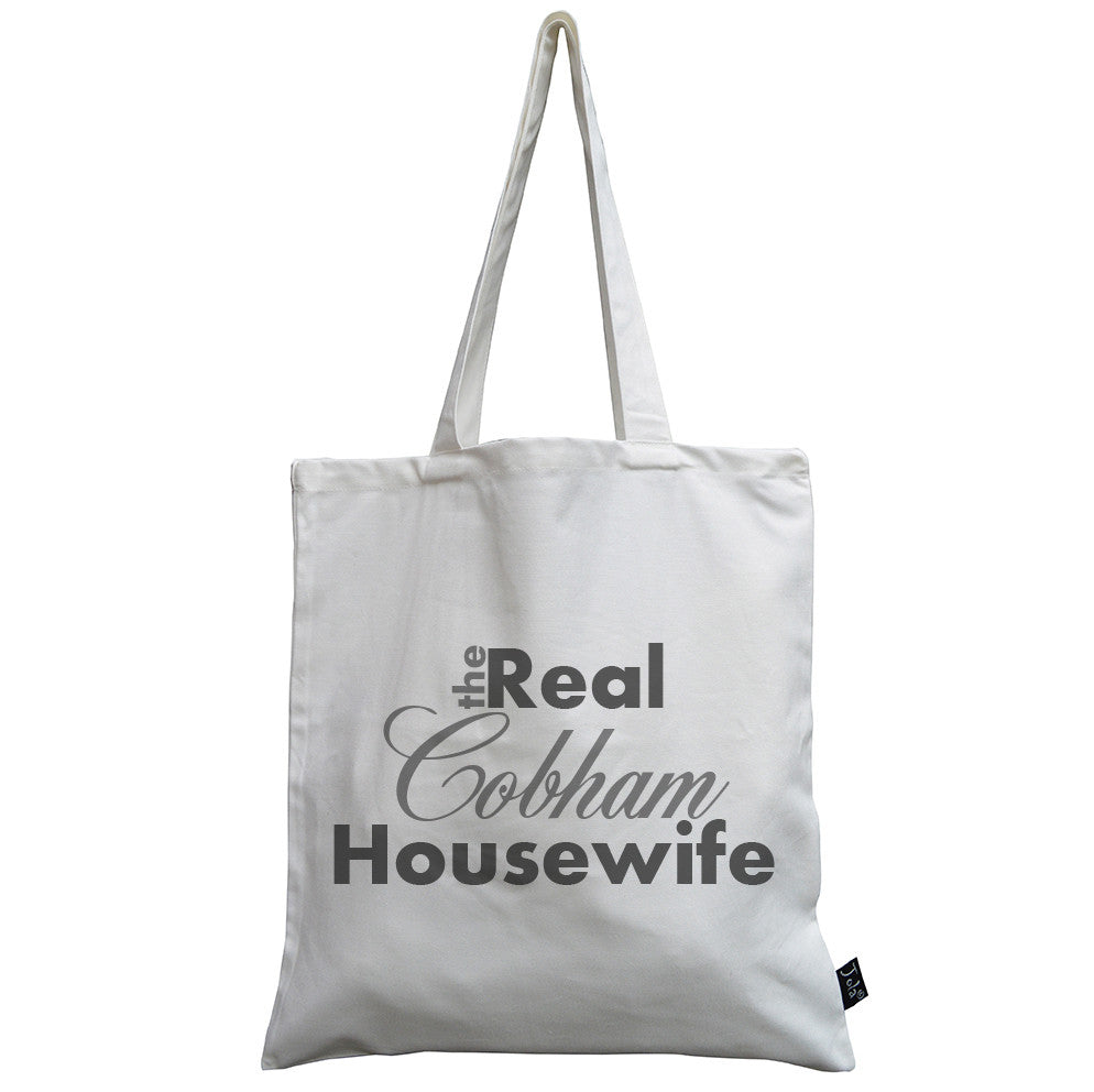 Trade only Personalised Real Housewife canvas bag