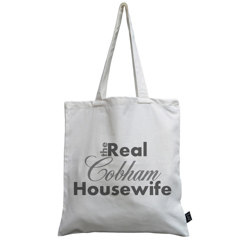 Personalised Real Housewife canvas bag